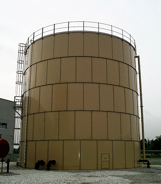 Picture of Fire Protection Storage Tank
