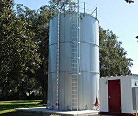 Picture of Steel Water Tanks